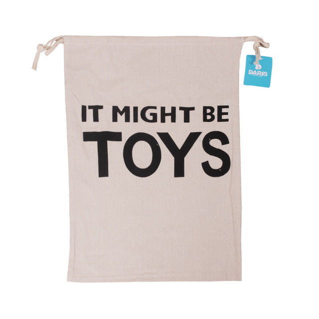 Laundry Or Toy Storage Bag