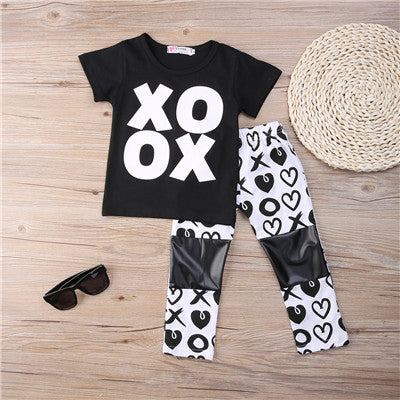XOXO Shirt & Pants Set
