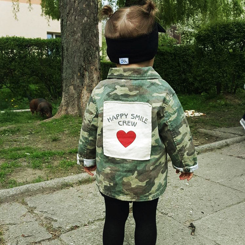 Happy Smile Crew Unisex Jacket
