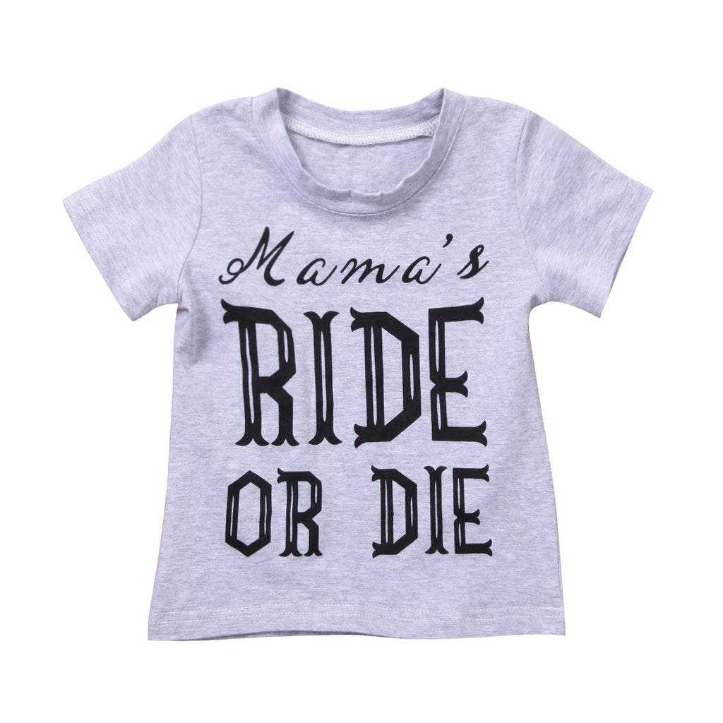 Mama's Ride Or Die Shirt