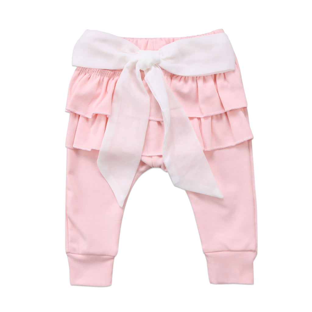 Ruffle Bottom Pants
