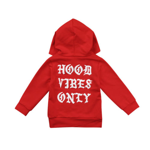 Hood Vibes Only Hoodie -Two Colors