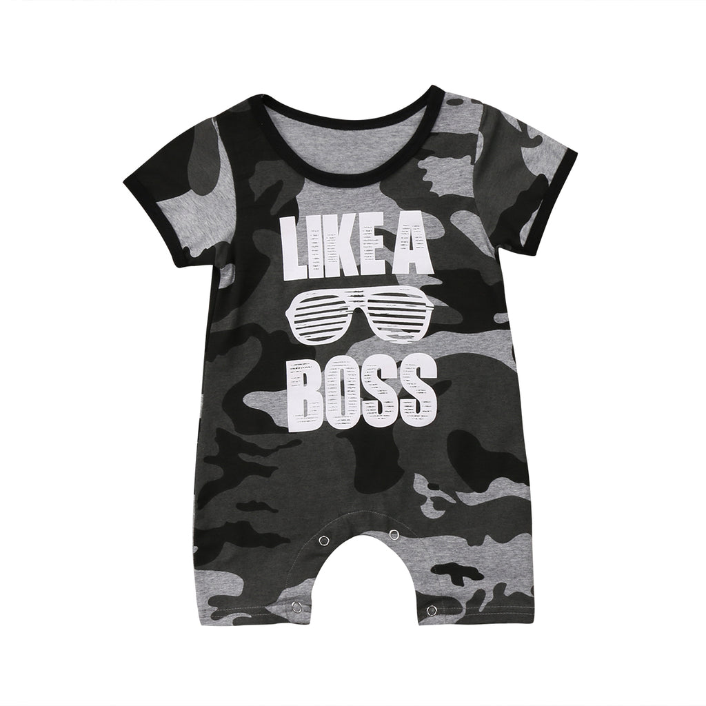 Like A Boss Romper