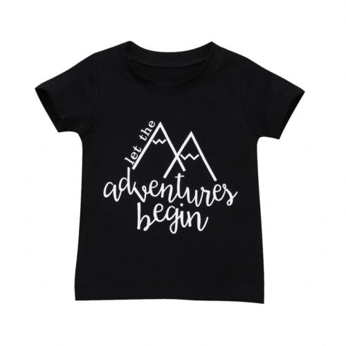 Let The Adventures Begin T-shirt