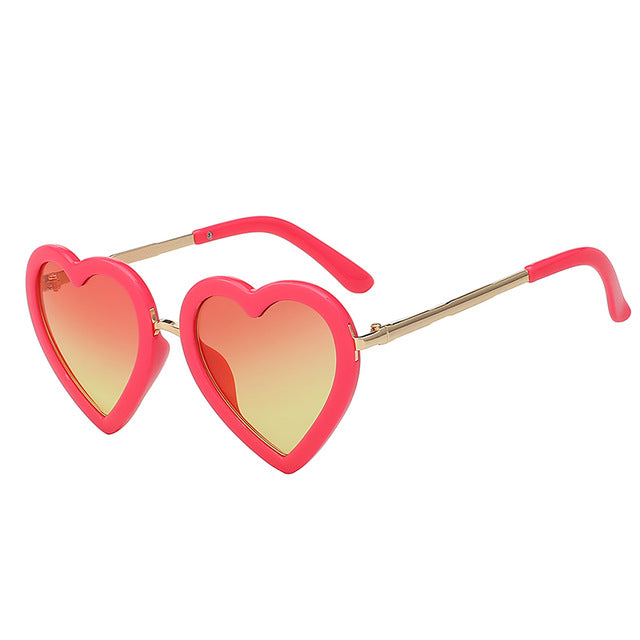 Girl's Heart Sunglasses