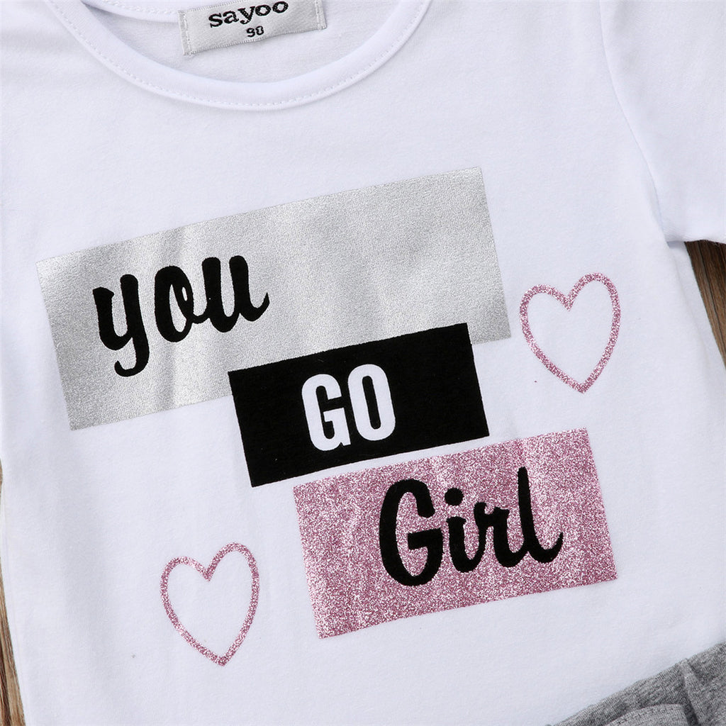 You Go Girl 2PC Set