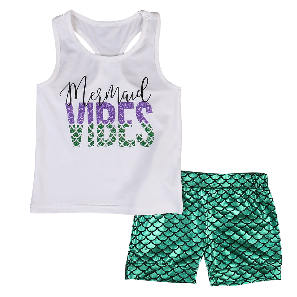 Mermaid Vibes Tank Set