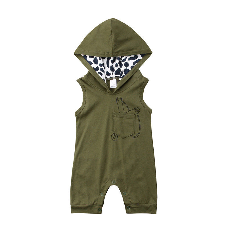 Slingshot Hooded Romper