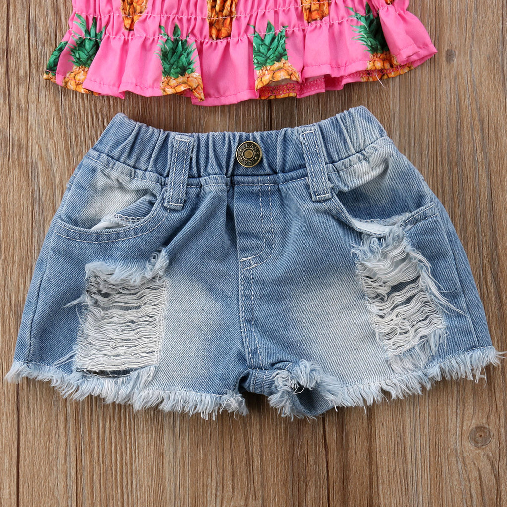 Pineapple Bliss 2PC Set