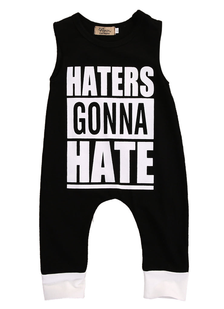 Haters Gonna Hate Romper