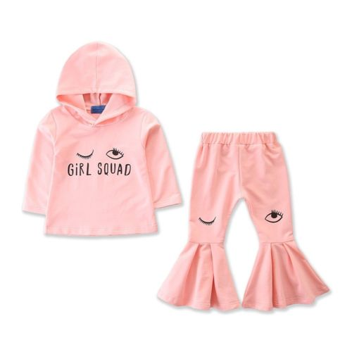 Girl Squad Hoodie & Bell Bottoms Set