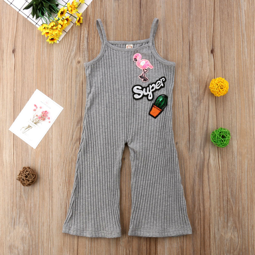 Super Bell Bottom Romper