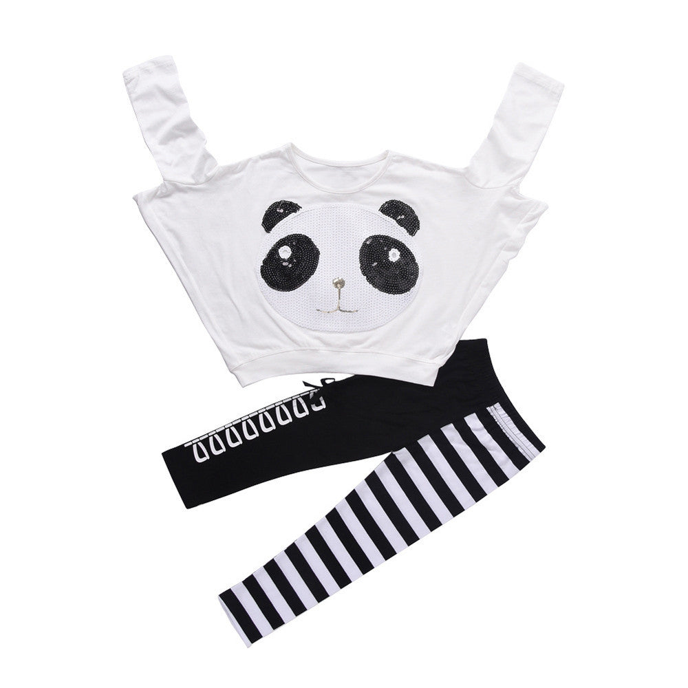Panda Glam Pullover & Statement Leggings