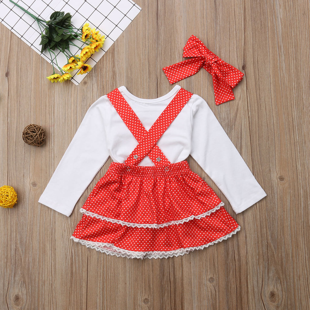 Sweetheart Dress 3PC Outfit