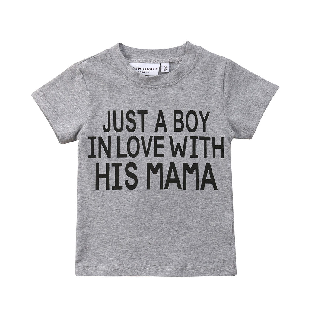 In Love With Mama Shirt