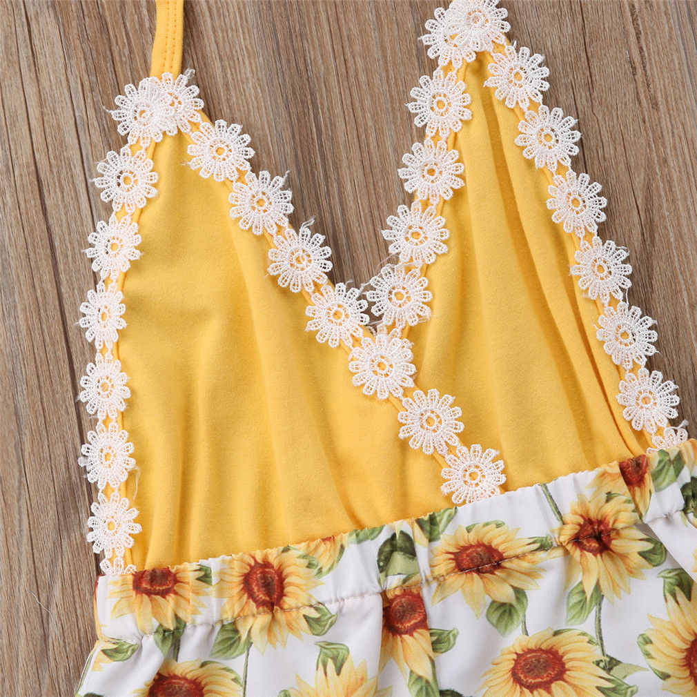 Sarah Sunflower Playsuit