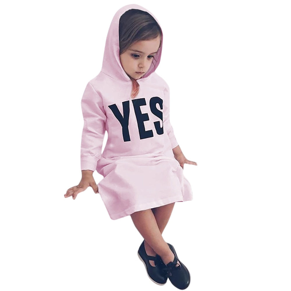 Yes Hooded Dress