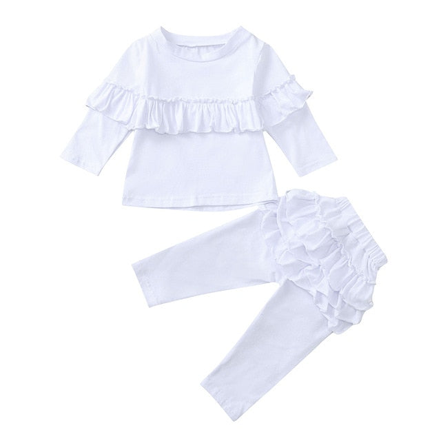 Rachel Ruffle 2PC Set