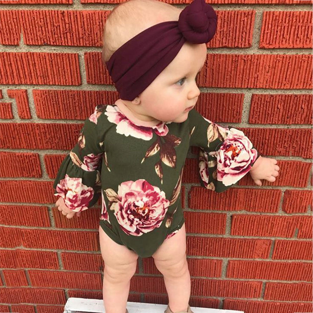 Georgie Flare Sunsuit + Headband