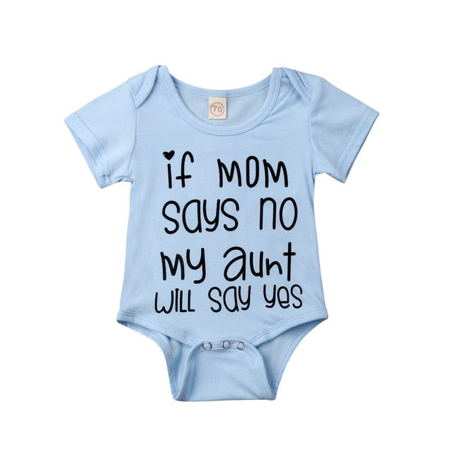 My Aunt Will Say Yes Onesie