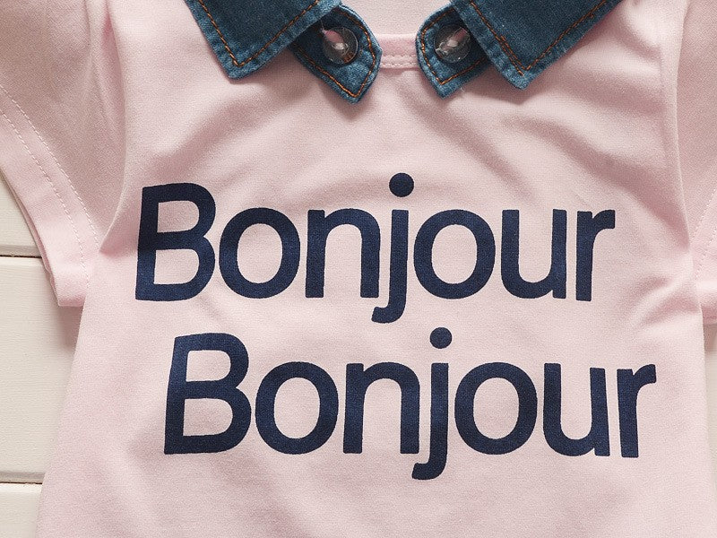 Bonjour Baby / Toddler Outfit