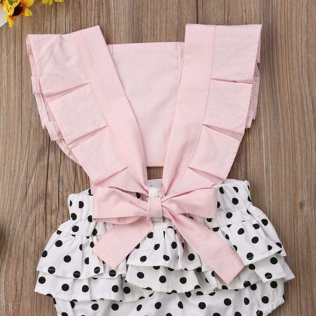 Shawnee Polka Dot Sunsuit