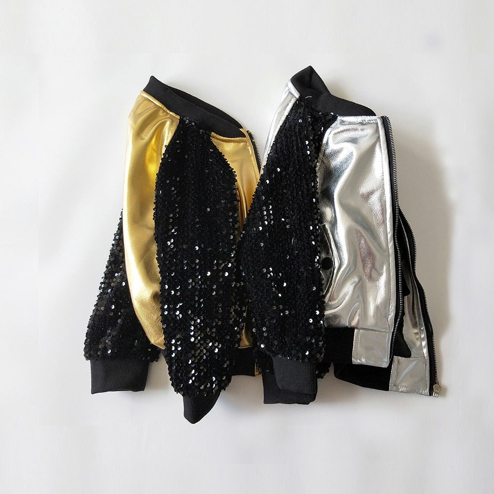 Metallic Sequin Kasey Jacket