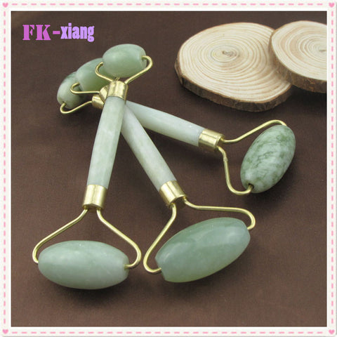 Face care.Hot Portable Pratical Jade Facial Massage Roller Anti Wrinkle Healthy Face Body Head Foot Nature Beauty Tool