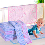 35*45cm/50*70cm Reusable Baby Kids Waterproof Mattress Bedding Diapering Changing Mat Washable breathable pure cotton thickening