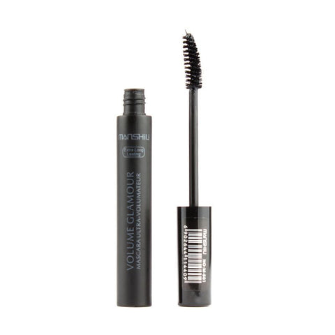 Black 3D Fiber Eyelashes Extension Waterproof Mascara Eye Make Up Cosmetic