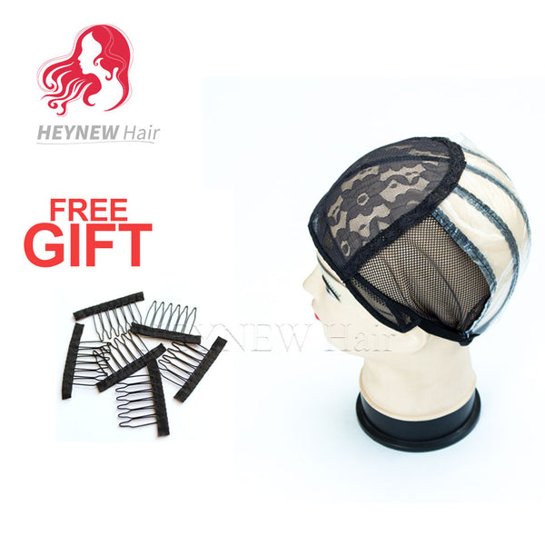 5PCS/Lot wholesale wig cap for making wigs with adjustable strap on the back weaving cap lace front wig caps for making wigs