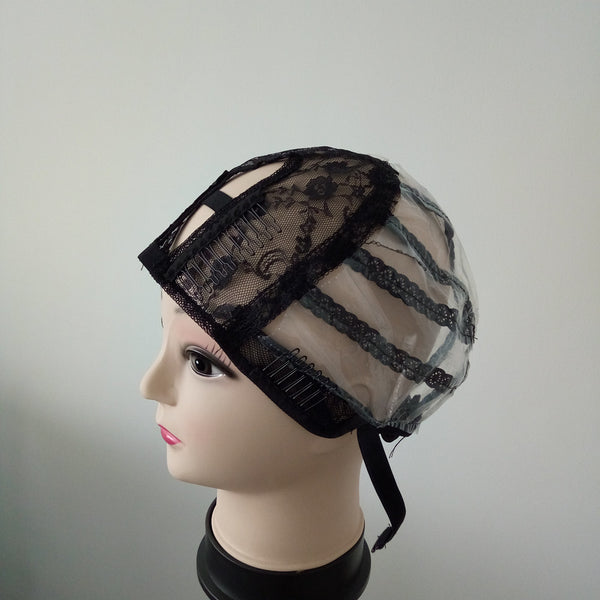 U parting wig cap for making wigs with adjustable strap/ Weaving caps Glueless caps