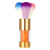 Colorful Nail Dust Brushes Acrylic&UV Nail Gel Powder Nail Art Dust Remover Brush Cleaner Rhinestones Makeup Foundation Tool