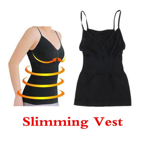 Weight Loss Fat Burning Slimming Vest Corset Body Shaper Chest UP elastic Black Vest Corset Girly Stretch Yuga Exercise Vest