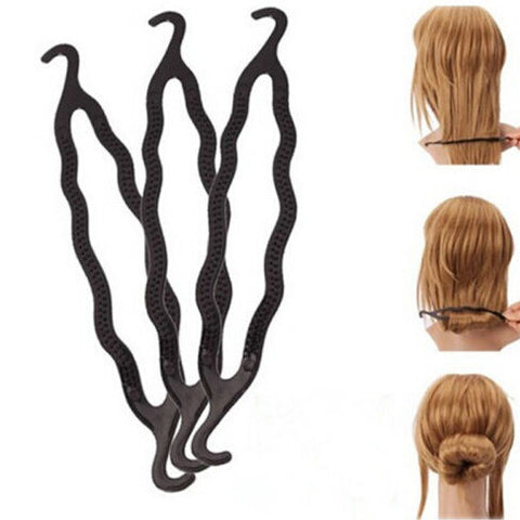 New Arrival 1Pc Hair Braiding Twist Styling Tool for Women Plastic Hair Styling Tools Magic Long Hair Braiders Tools
