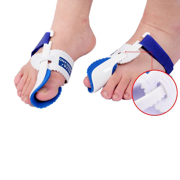 2pcs=1pair Hot Beetle-crusher Bone Ectropion Toes outer Appliance Professional Technology Health Care Product (left and right)