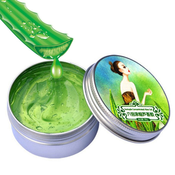 30g Nature Aloe Vera Gel Soothing Moisturizing Whitening Cream Anti-Acne Face Care Sextuple Condensed 2016  Hot Selling