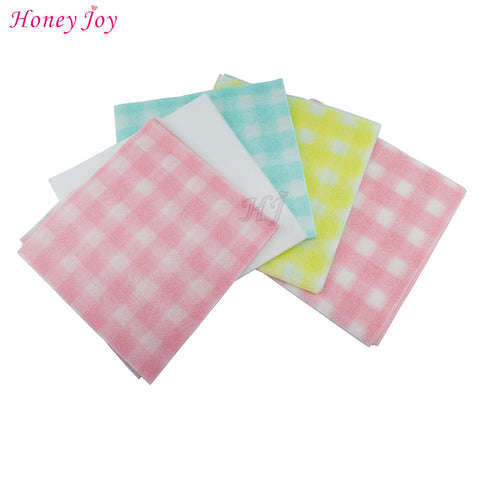 60pcs/pack Pure Cotton Non-woven Fabric Beauty Towel Washcloth Facecloth Sanitary Paper for Ault Baby Children Skin Home Clean