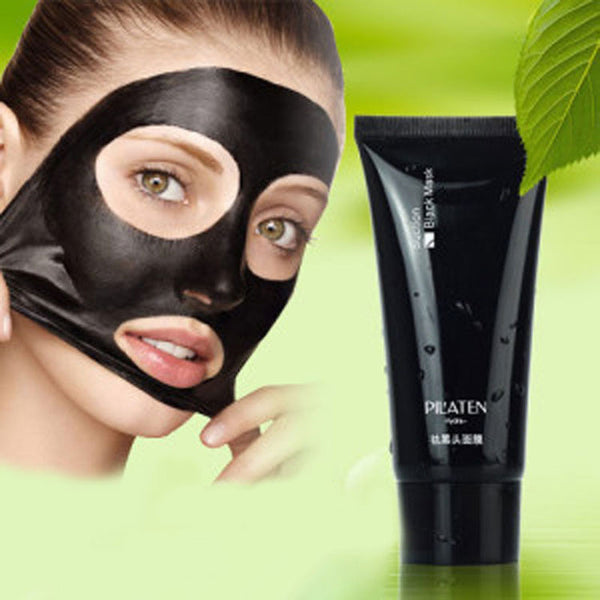 4PC/Set Black Mask Face Peel Mask Black Head Blackhead Remover Mask+Acne Needle Comedone Acne Extractor Acne Treatment Skin Care