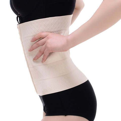 Plus 5 Rows Hooks Womens Waist Trainers Slimming Workout Corsets Body Shaper Weight Loss strap Belt Slimming Corset