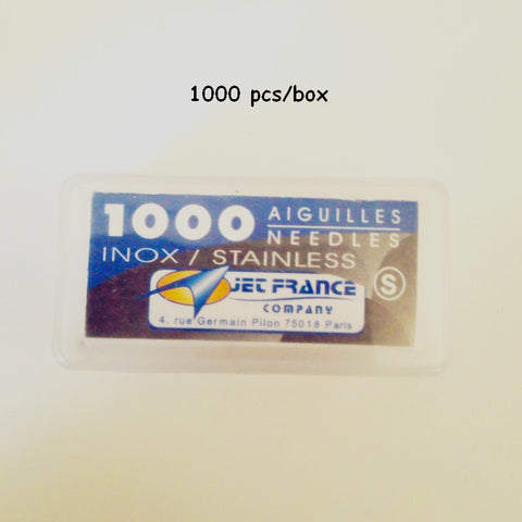 0.40X31 mm High Grade Professional Aiguilles Jet France Needle Loose Tattoo Needles 1000PCS/Pack