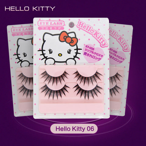 New cheap high quality hand made cosplay false eyelash crisscross makeup big eyes false eyelash 3 set/lot(6 pairs) free shipping