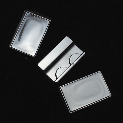 10Pcs Mini False Eyelashes Packing Box Clear Transparent Reusable Thick Long Eyes Lashes Safe Case High Quality Easy To Carry