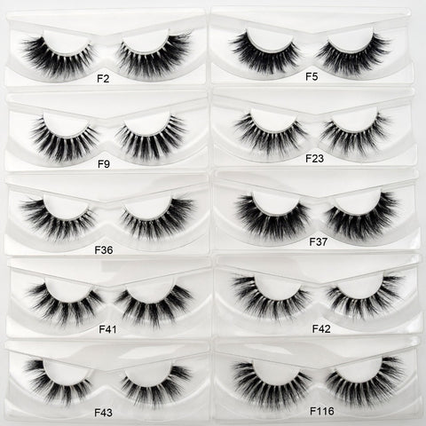 Visofree Mink Eyelashes Invisible Band Lashes Natural 3D Mink False Eyelash Full Strip Transparent band lashes cilios posticos