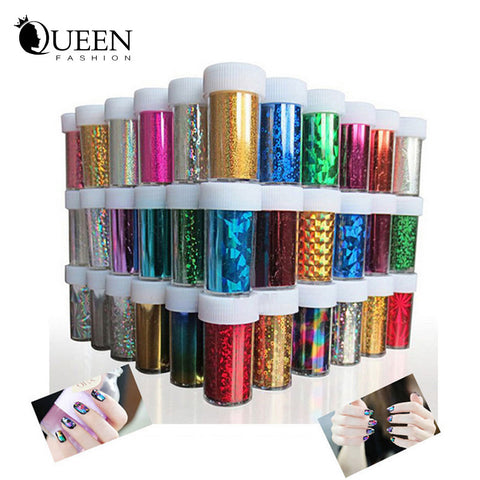 66 Designs Nail Art Transfer Foils Sticker,12pcs/lot Hot Beauty Free Adhesive Nail Polish Wrap,Nail Tips Decorations Accessories
