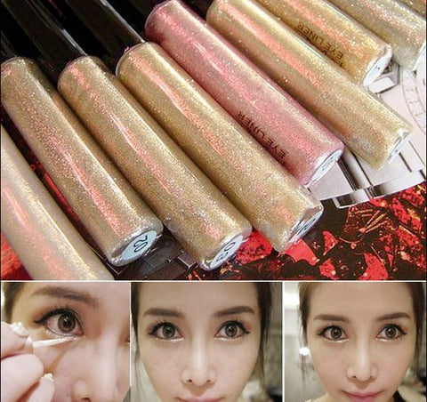 Professional Cosmetics Shining Bronzer Gold Eye Shadow 7 Colors Eyeshadow Shimmer Glitter Shining Makeup maquiagem Free Ship