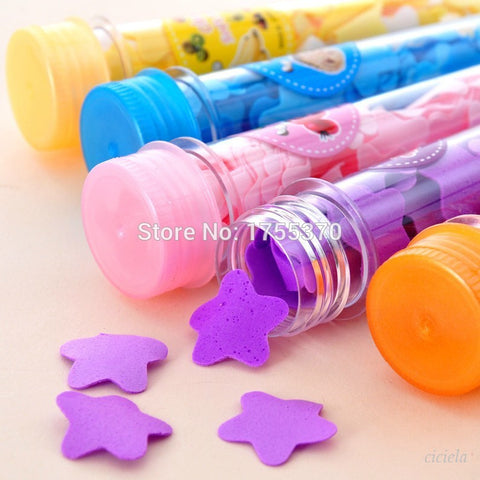 Vogue 1pcs Portable Tube Soap Petals For Travel Scented Soap Bath Flakes ChildHand Washingv Soaps