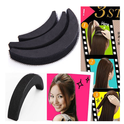 Newest 3 PCS Hair Accessories Fashion Hair Styling Women Clip Stick Bun Maker Braid Tool NA695