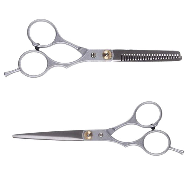 Professional hairdressing scissors set 6 inches beauty salon cutting thinning hair shears barbershop hair styling tools