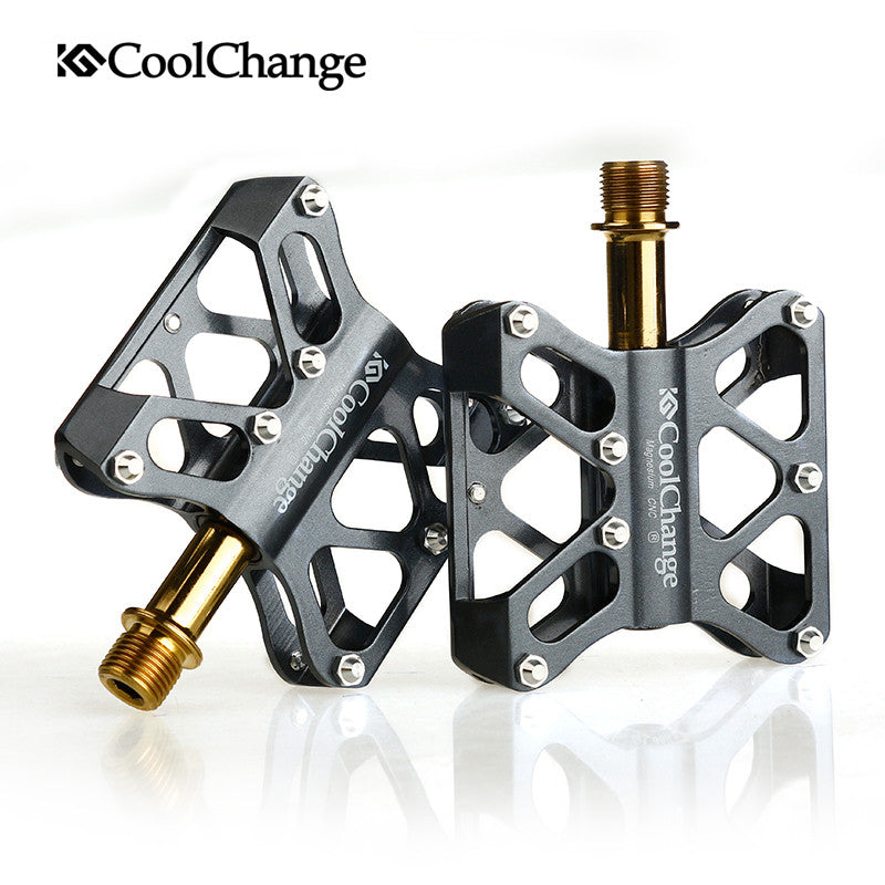 CoolChange mountain bike pedals lightweight skid Perlin modified